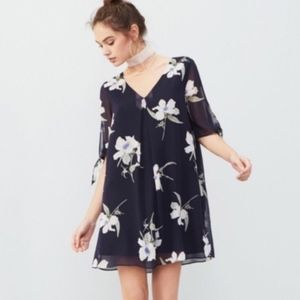 Nordstrom Off The Shoulder Floral Dress